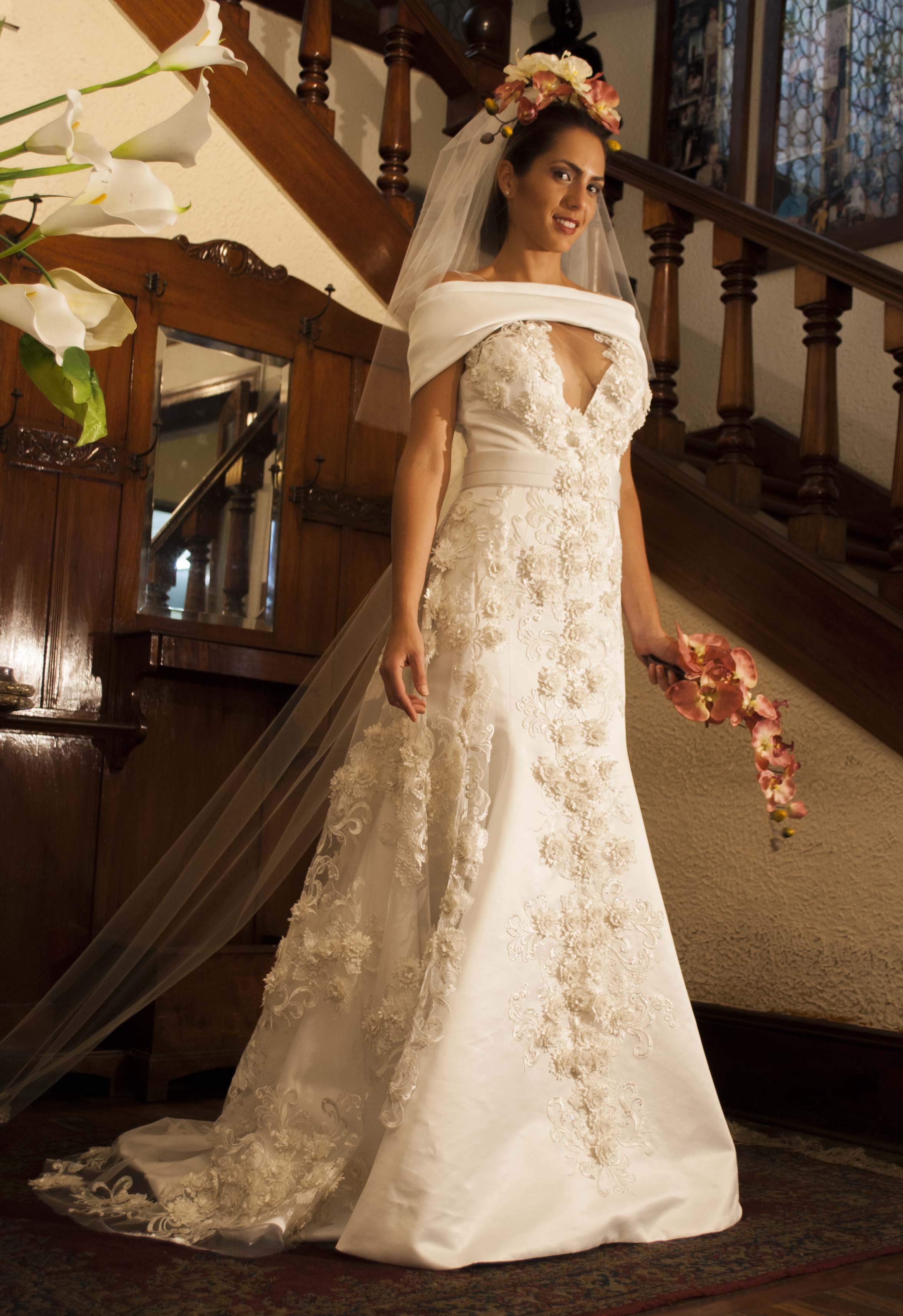 Imagenes vestidos de novia con encaje